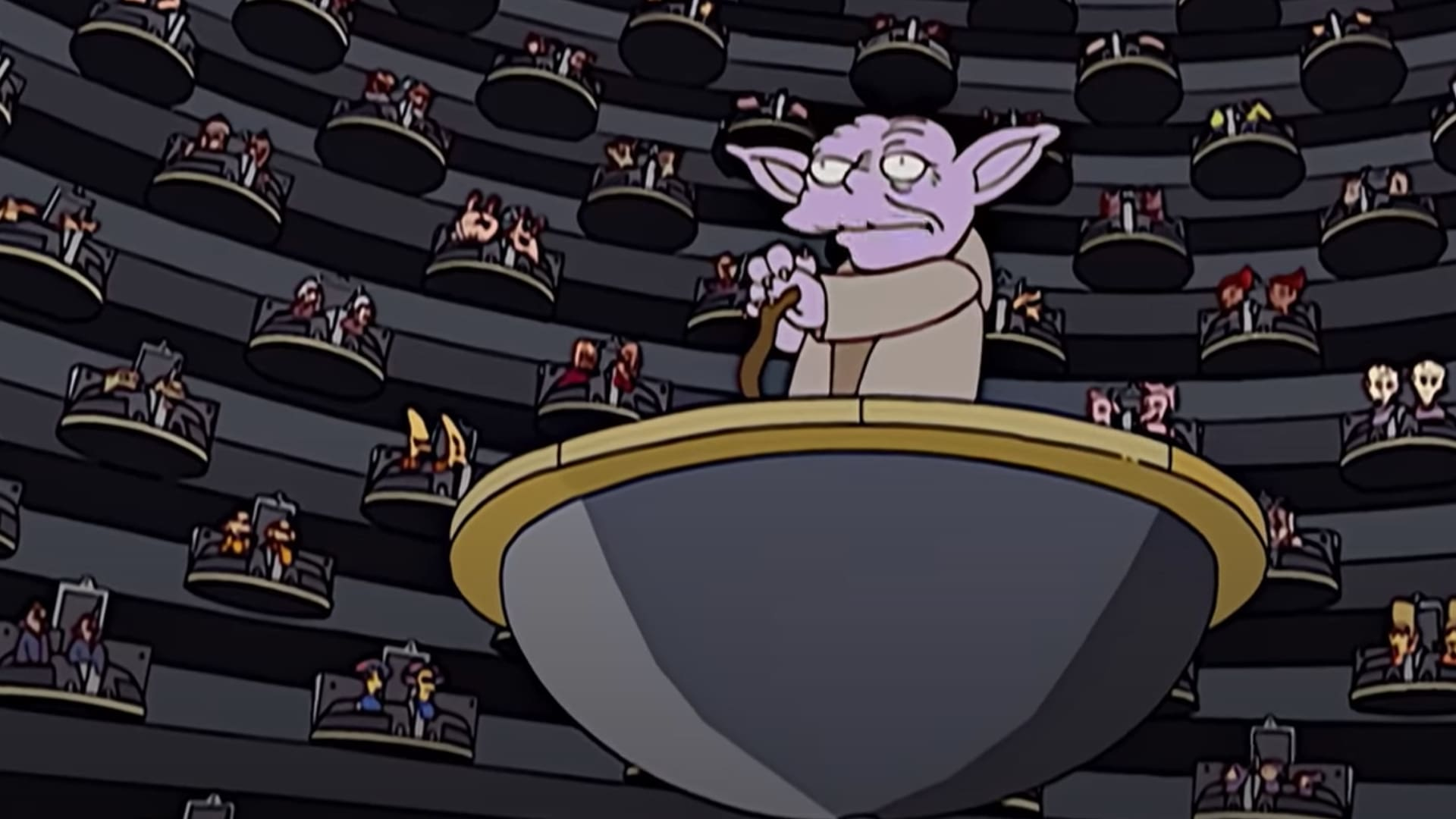 The Best Star Wars References from The Simpsons on Disney Plus