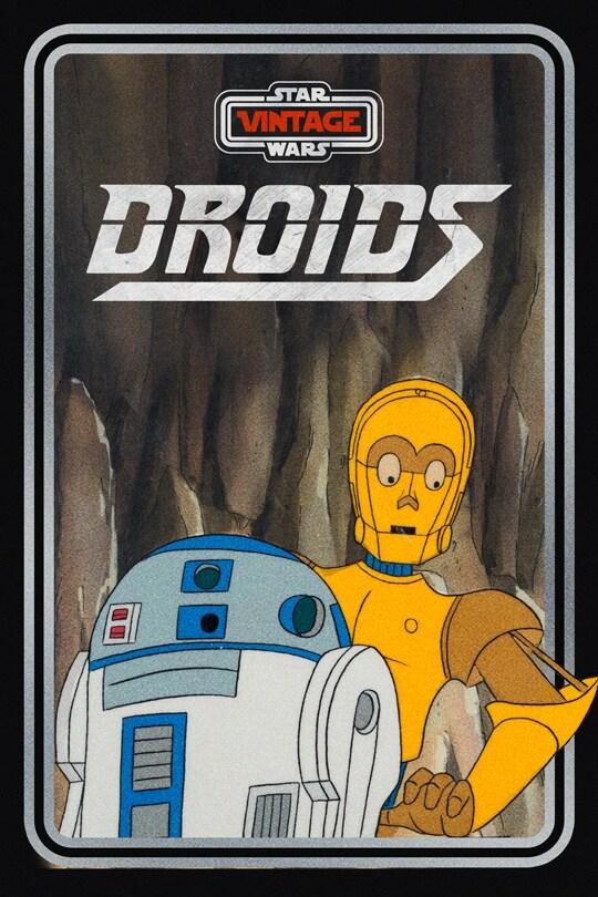 Star Wars Vintage: Droids poster