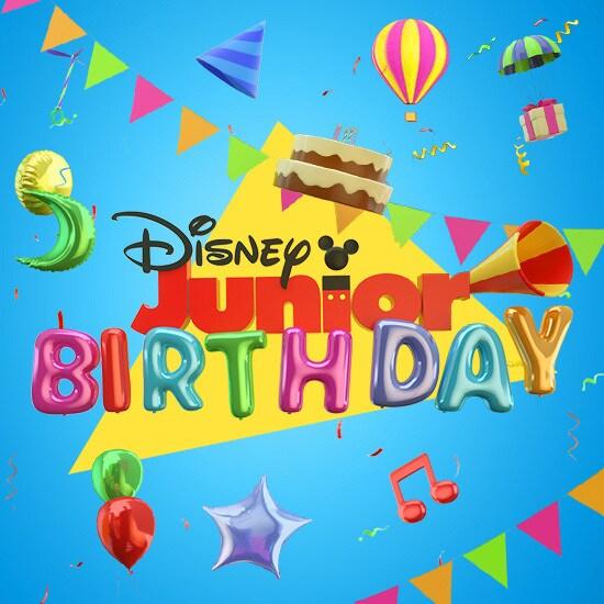 Disney Junior Birthdays