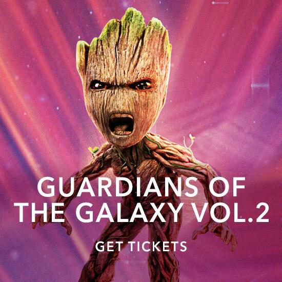 GOTG2 Groot - Get Tickets