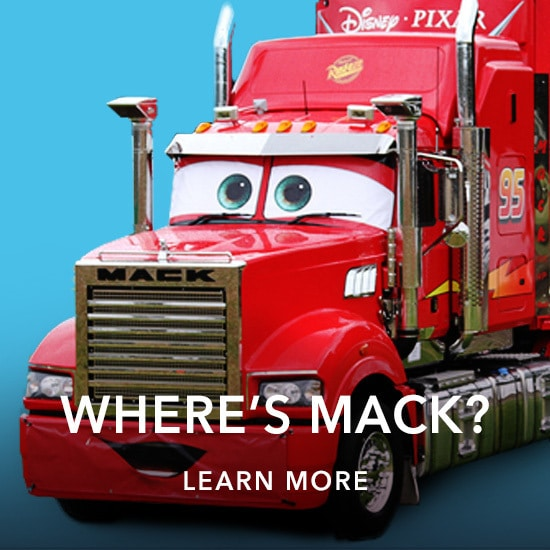 Cars 3 Where's Mack Supercars Pit Stop
