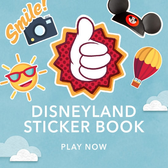 Disneyland Stickerbook