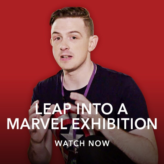 Hanging With - Marvel Exhibition - Jackson - Kids Slider - Homepage - Stream AU