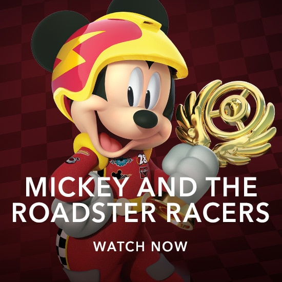 Mickey and the Roadster Racers - Kids Slider - Homepage - Stream  AU