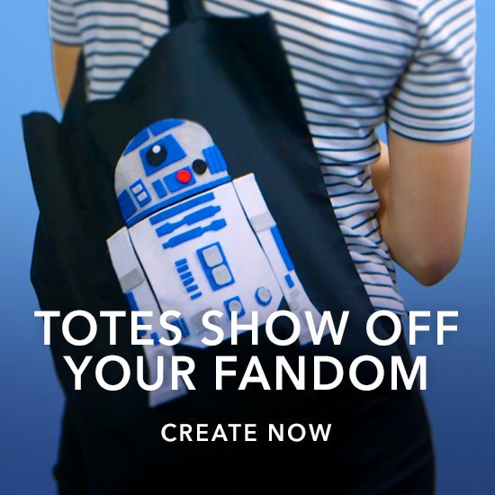 Star Wars - DIY - Tote Bags - Kids Slider - Link AU