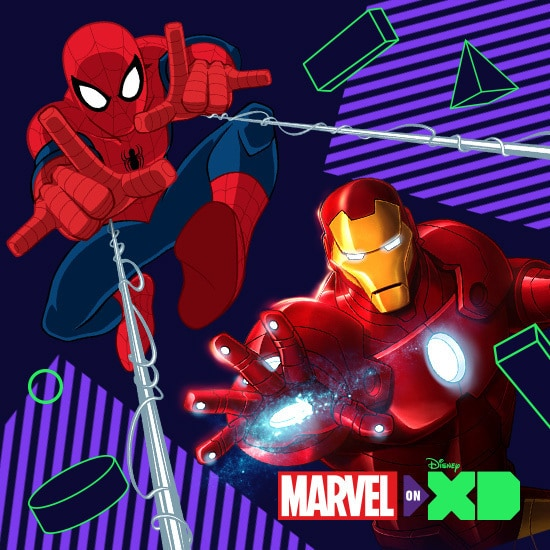 Shows AU - DXD Marvel - Slider