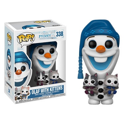 Frozen Olaf with Kittens Pop! Vinyl