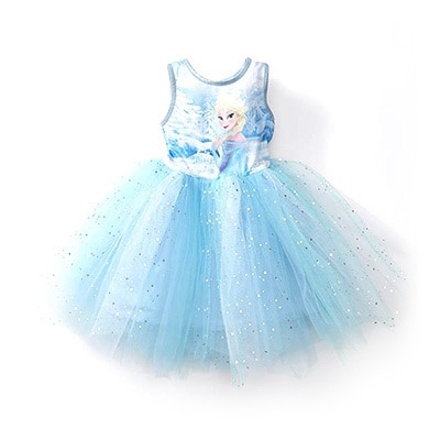 Frozen Petal Tutu Dress