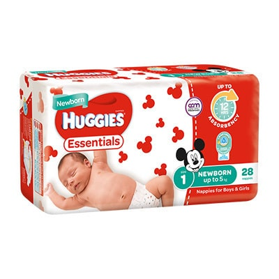 Huggies Essentials For Newborn Boys and Girls