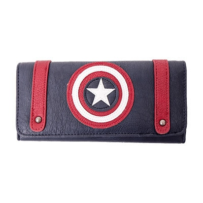 Captain America Loungefly Clutch Wallet