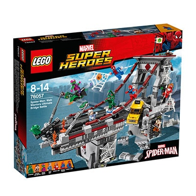 Lego Spider-Man Web Warriors Ultimate Bridge