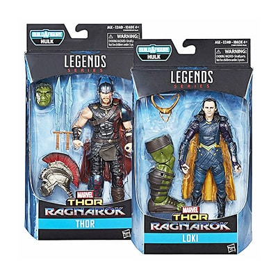 "Thor Ragnarok Legend Series 6"" Figures"