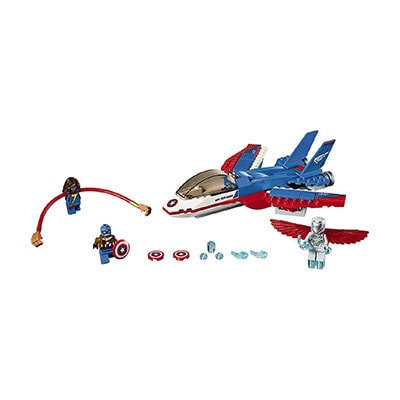 Lego Captain America Jet Pursuit