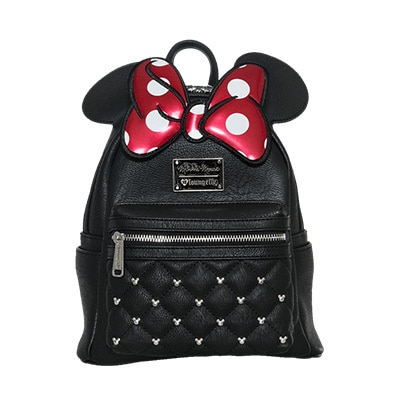 Minnie Mouse Loungefly Black Backpack
