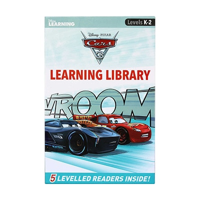 Disney Learning Book - Cars 3
