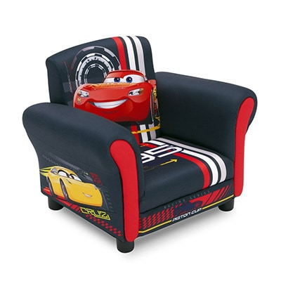 Cars Upholstered Kids Chair