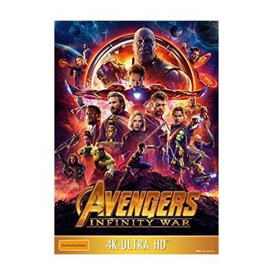 Avengers: Infinity War (4K/BD/BD-Bonus)