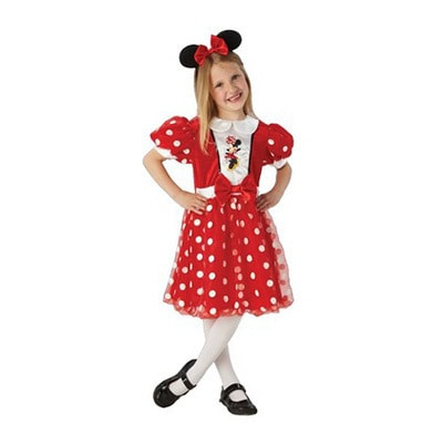 Minnie Mouse Dress Red 4 - 6 Years