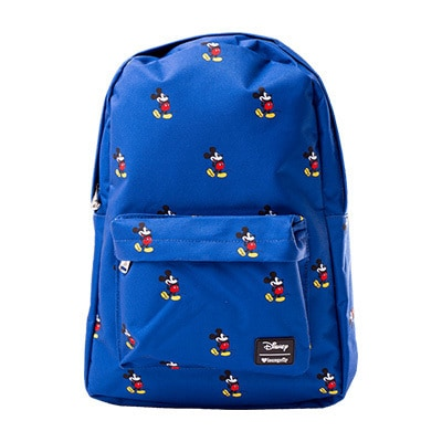 Mickey Mouse Blue Loungefly Backpack