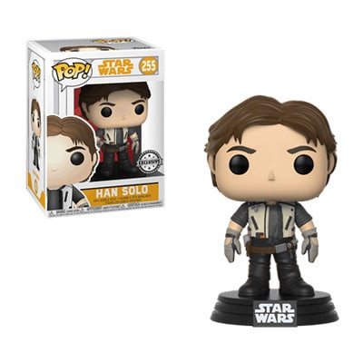 Han Solo in Vest Pop! Vinyl