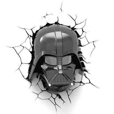 3D Light Darth Vader