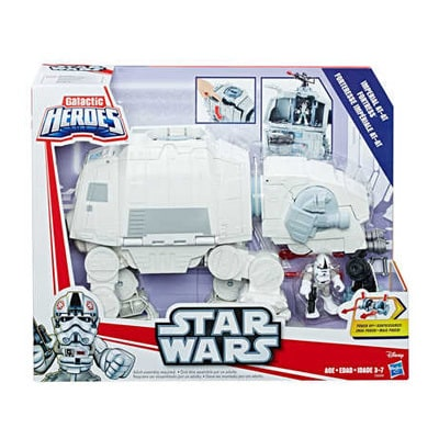 Galactic Heroes Imperial AT-AT Fortress Playset