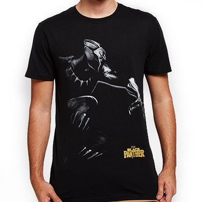 Black Panther Short Sleeve Tee