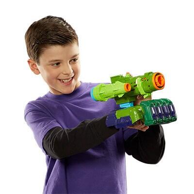 Hulk Assemble Nerf Gear