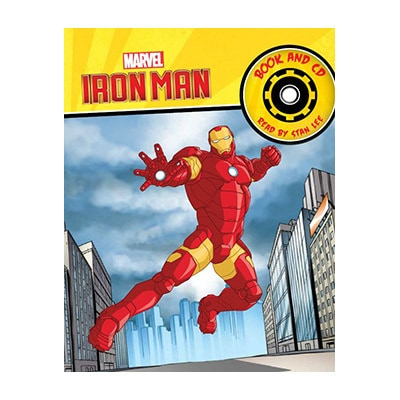 Iron Man Book and CD read by Stan Lee