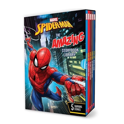 Spider-Man: The Amazing Storybook Library
