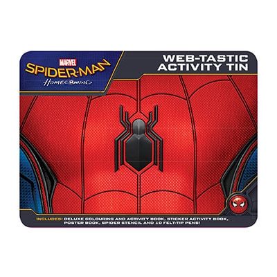 Spider-Man Web-tastic Activity Tin