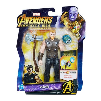 Thor Infinity War Figure with Infinity Stone