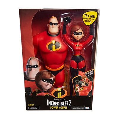 Incredibles 2 Power Couple Figures 30cm