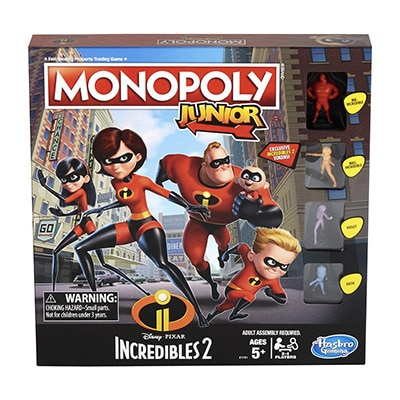 Monopoly Junior Incredibles 2