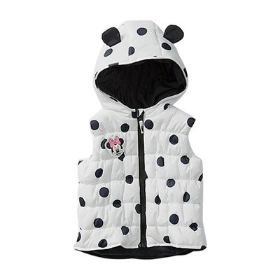 Minnie Hooded Puffer Vest