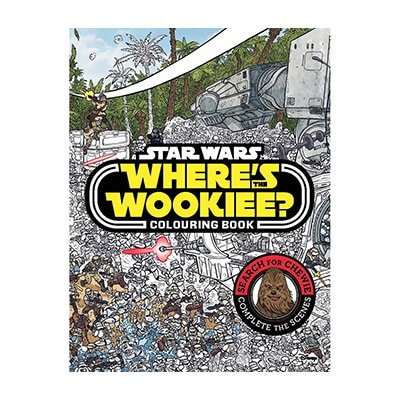 Where's The Wookie? Colouring Book