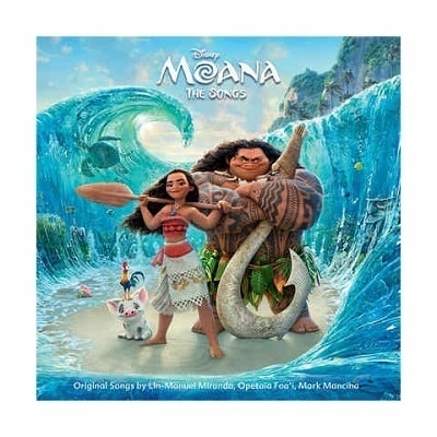 Moana: The Songs CD
