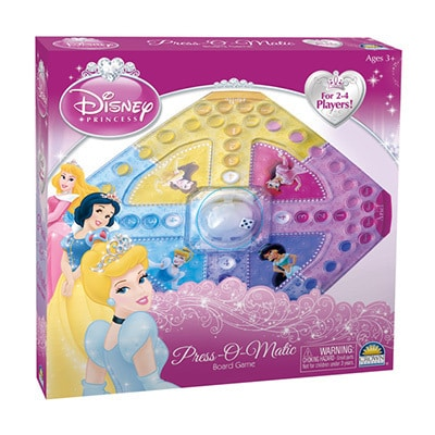 Princess Press-o-Matic Game