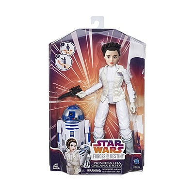 Forces Of Destiny Leia and R2-D2 Adventure Set