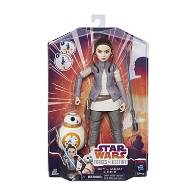 Forces Of Destiny Rey and BB-8 Adventure Set