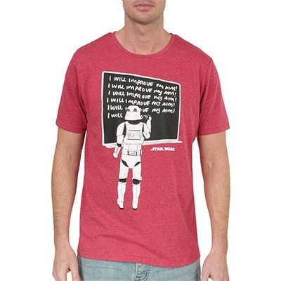 Star Wars Men's Print Tee Red