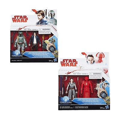 Star Wars The Last Jedi Force Link Assorted 2-Pack Set