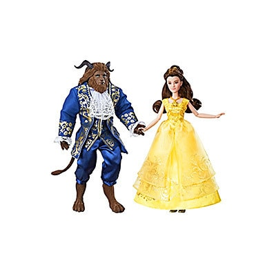 Belle and Beast 2-Doll Pack