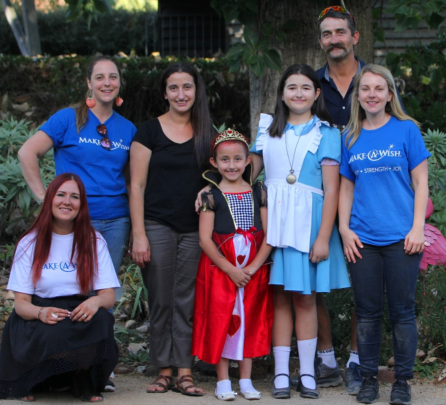 Disney helps grant wishes across the world by supporting Make-A-Wish organisations.
