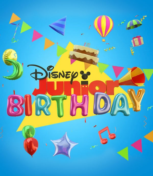 Disney Junior Birthdays