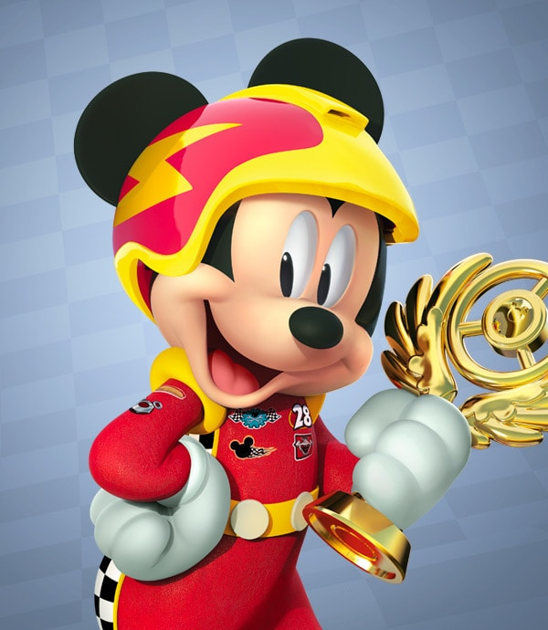 TV - Mickey and the Roadster Racers