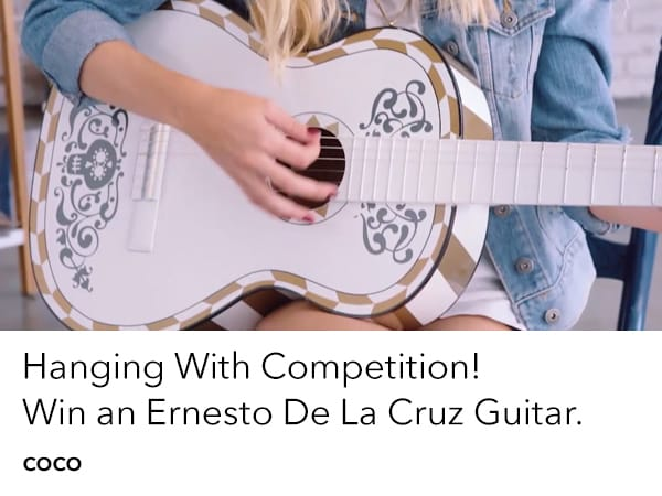 Win a Coco Guitar with Hanging With
