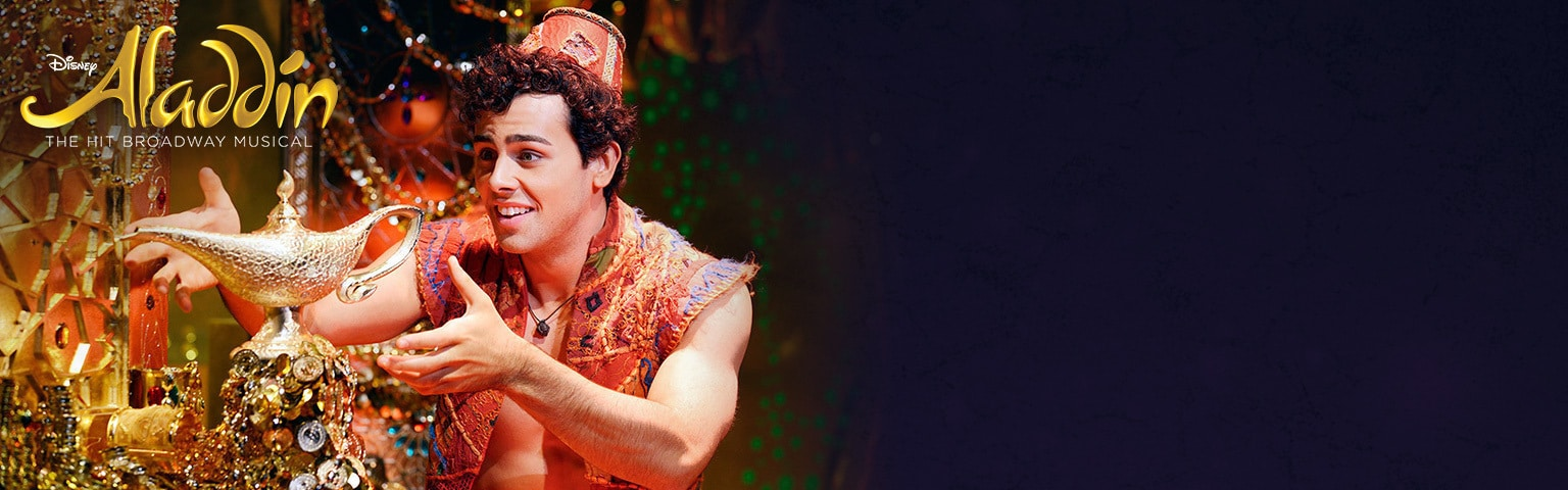 Live Shows - Aladdin The Musical - Aladdin and Lamp