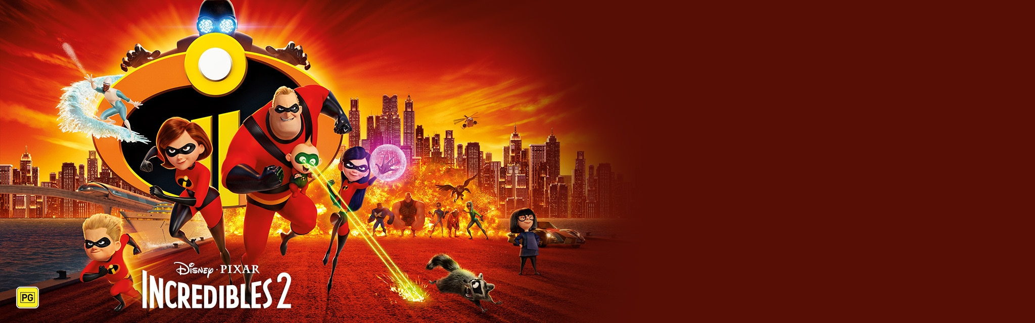 Movies AU - Incredibles 2 - movies homepage hero
