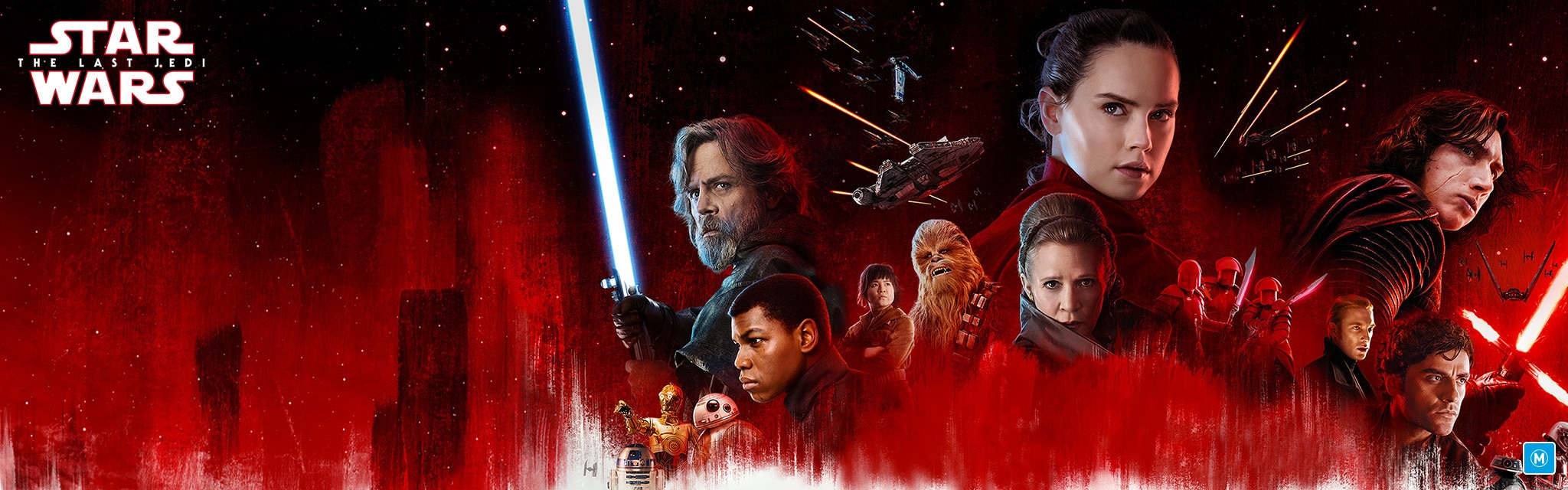 AU Home - Star Wars The Last Jedi - HE Hero